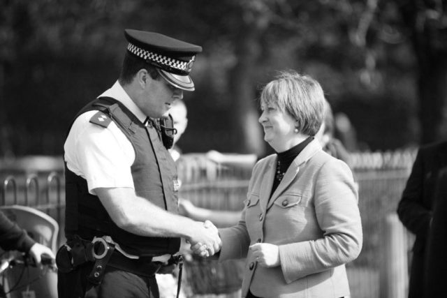Brendan With Home Secretary Jacqui Smith